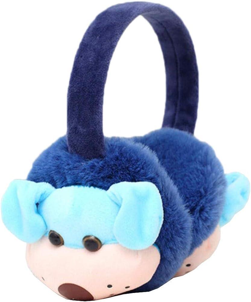 Cute Animal Soft Earmuffs Winter Warm Outdoor Ear Covers Headband Fur Ear warmer,#C15