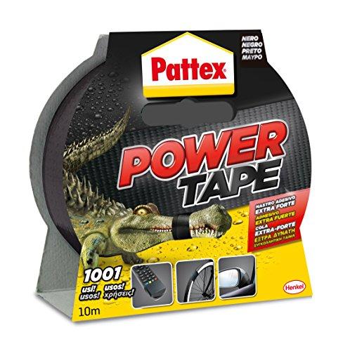 Pattex 1669042 Power Tape Nastro Universale, 10 m, Nero