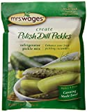 Mrs. Wages Polish Dill Pickles Refrigerator Mix, 1.94 Ounce (VALUE PACK of 12)