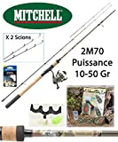 Mitchell Pack Feeder Tanager Camou 2M70 + Moulinet Tanager + Accessoires