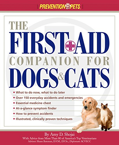 best pet first aid book - The First-Aid Companion for Dogs & Cats (Prevention Pets)