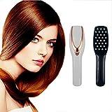 MAGO- Hairbrushes Peigne De Massage Électrique avec Lumière Infrarouge Et Thérapie par Vibration Anti Chute De Cheveux Peigne Croissance pour Les Hommes Et Les Femmes