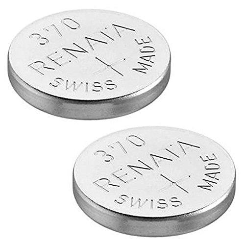 Uhrenbatterie Renata Swiss made Renata 370 oder SR920SW 1.5V (2 x 370 oder SR 920 SW)
