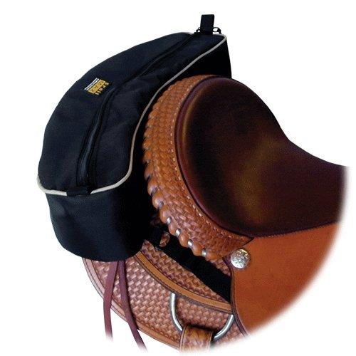 Trailmax 500 - Bolsa para borrén trasero con forma falcada - Equipaje para silla vaquera de cowboy