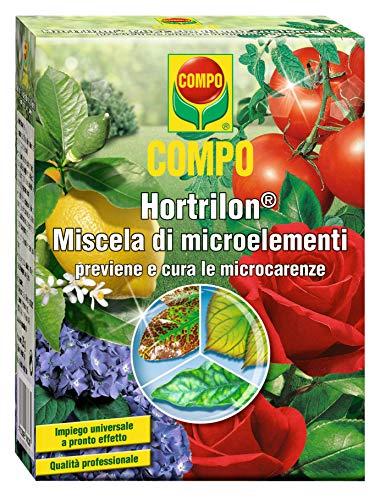 COMPO Hortrilon Miscela di microelementi, Effetto rivitalizzante, 5 Bustine da 5 grammi (25 g totali)