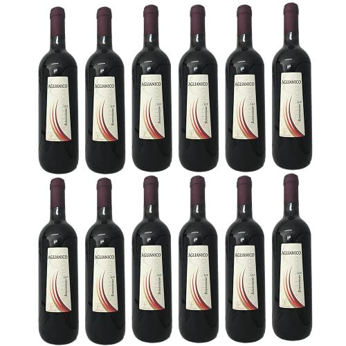 Aglianico Beneventano igp confezione 12 bottiglie | Vino Rosso | Cantine Carannante