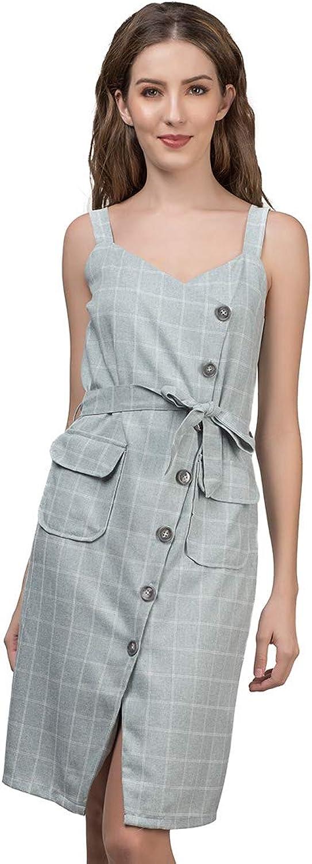 Plains and Prints Womens Riviera Joshi Sleeveless Dress