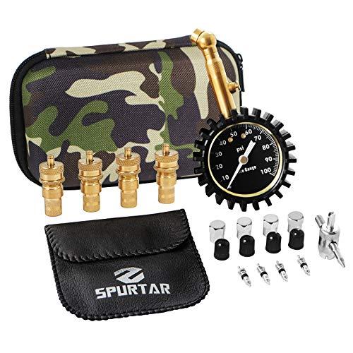 Spurtar Tire Deflators Air Kit for Offroad Vehicles, Cars, ATVs, Trucks Air...