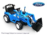 Beyond Infinity - Ford Children's Ride On Tractor, Blue - 12V Battery Powered Wheels, Working Bucket, Ford Licensed, for Ages 3-6