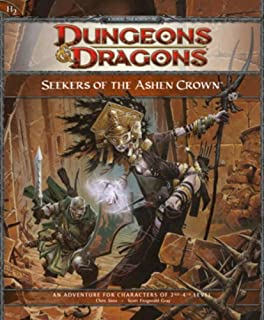 Seekers of the Ashen Crown (Dungeons & Dragons) by Chris Sims (21-Jul-2009) Paperback