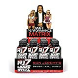 Ron Jeremy RJ7 Liquid Steel Men's Formula – Pre-Romance Liquid Shot to Boost Drive, Stamina and Firmness. Works in Under 30 Minutes. 12 Bottles 2 Ounces Each.