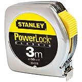 Stanley 0-33-218 Mesure 3 m x 12,7 mm en métal Powerlock Classic