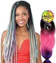 Rastafri Braiding Hair - HIGHLIGHT JUMBO BRAID (3T1B/PP/PK613 - Purple/Pink/Platinum)