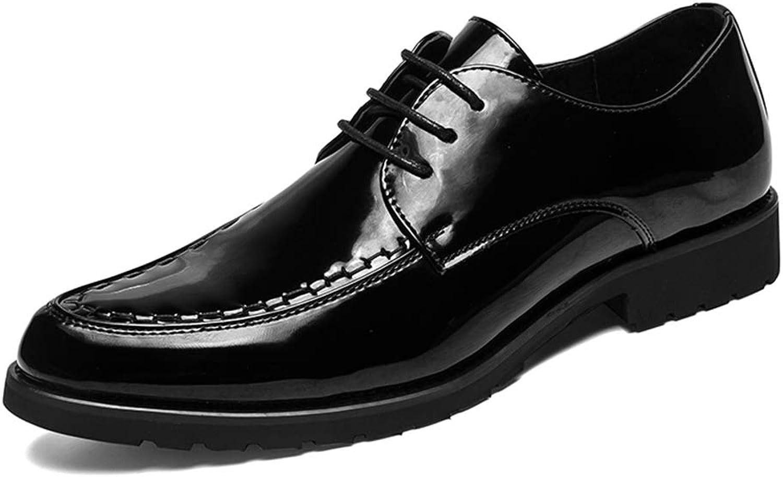 Easy Easy Easy Go Shopping Herrenmode Oxford Casual Klassisch Britisch Stil Schnürschuhe Lackleder Formelle Schuhe,Grille Schuhe  db0441