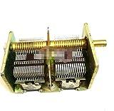 WSF-Capacitors, FSM-condensadores, 1pc 246 Tipo 2 * 460PF de Radio Doble Condensador Variable