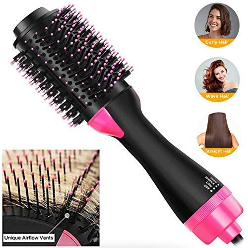 MY-COSE Hot Air Brush One Step Secador De Pelo Cepillos, Herramientas De Peluquería, Voluminizador Negativo Iónico Salon Plancha De Pelo Y Rizador De Peine Adecuado para Todas Las Hair Style