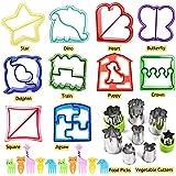 Orapink - Cortadores de bocadillos para niños, 28 piezas, cortador de...