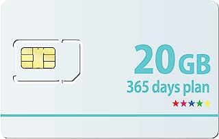 Docomo 日本国内専用【最大20GB利用可能】365日プランSIMカード【1日の制限無し!】※面倒な契約不要 docomo MVNO回線データ専用 使い切りプリペイドSIMカード SIMリリースピン付