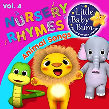 Animal Songs and Nursery Rhymes for Children Vol. 4 - Fun Songs for Learning with LittleBabyBum