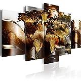 murando - Cuadro de Cristal acrílico 100x50 cm Impresión de 5 Piezas Pintura sobre...