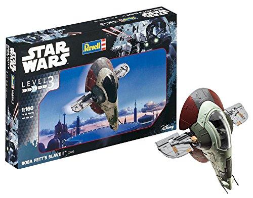 Revell Star Wars Boba Fett\'s Slave I, Kit modele, Escala 1:160 (03610)