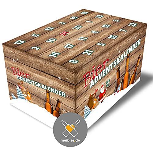 meibier® Bier Adventskalender aus Franken 24x0,5l, Bierkalender, das Biergeschenk 2021