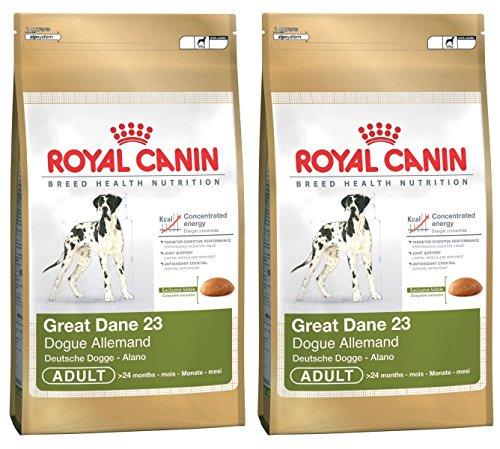 2 x 12 kg Royal Canin Great Dane 23 Dry comida para perro adulto ✅