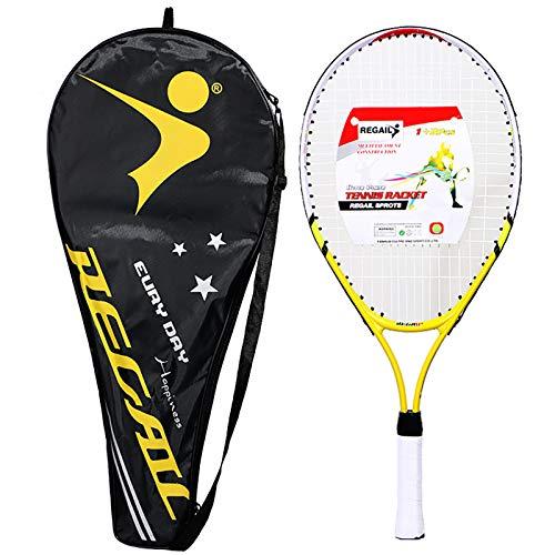 NECZXW1 Raqueta de Tenis para niños de 23 Pulgadas, Raqueta de Tenis...
