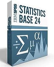 IBM SPSS Statistics Grad Pack Base V24.0 12 month License for 2 Computers Windows or Mac