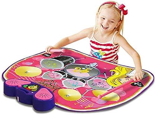 QXMEI Kindertrommel Musikdecke Multifunktionsspielzeug Krabbeln Gamepad 78  60 cm