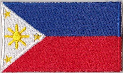 Flaggen Aufnäher Patch Philippinen Fahne Flagge - 6 x 3,5 cm