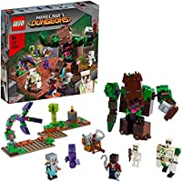 LEGO 21176 Minecraft The Jungle Monster Toy Set Minecraft Dungeons with Action Figures