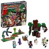 LEGO 21176 Minecraft La Abominación de la Selva, Juguete de Construcción para Niños y Niñas +8 Años con Mini Figuras