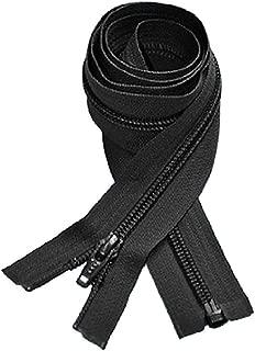 YKK 5CL Coil Jacket Zipper, 26in, Black