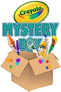 Crayola Mystery Box, 150 Pieces of Crayola Art Supplies for Kids,  Paint, Markers, Pencils, Crayons and More for Super Cre...