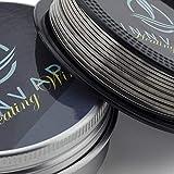 INNVAPE Heating Wire Coil Draht für Selbstwickelverdampfer - Bis zu 50 Coils pro Rolle (NI80 Tri-Core Fused Clapton)