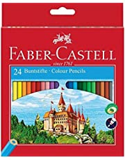 Faber-Castell 111224 kredki CASTLE Hexagonal, 24 szt. kartonowe etui