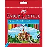Faber-Castell Fighting Knights 111224 - Lápices de, color es en caja de cartón (24 unidades)