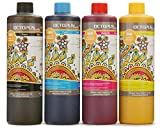 4x 500 ml Tinta de sublimación compatible con Epson, Brother, Roland, Mimaki, Mutoh, CMYK