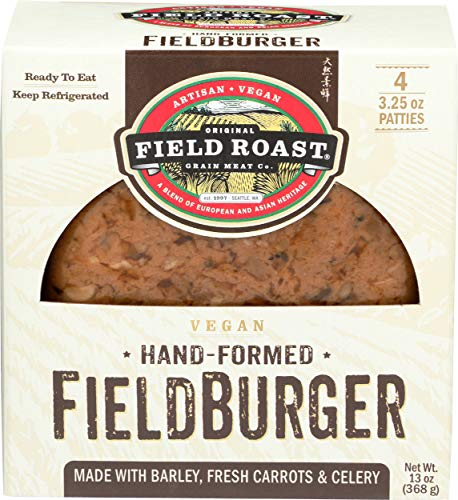 Field Roast, Meatless Burger, 13 Ounce