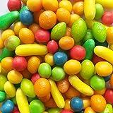 Caramelle FRUTTETO Dragées colorati al gusto e forma di Frutta Italgum g500