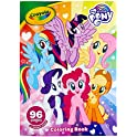 Crayola 96 Pages My Little Pony Coloring Book with Sticker Sheet