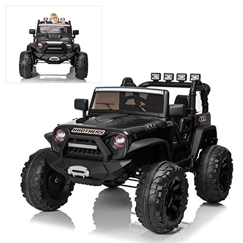 Ride On Car with Remote Control for Kids, 24V Electric Off-Road Truck Ride On Toys, 200W Ultra...