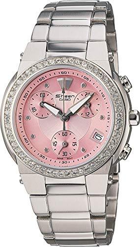 Casio Collection-Cronografo da donna, con orologio, SHEEN #SHN 5500D-4A