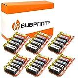 Bubprint - Cartucce di stampa compatibili con Canon PGI-525BK e CLI-521 (14) 30er Set