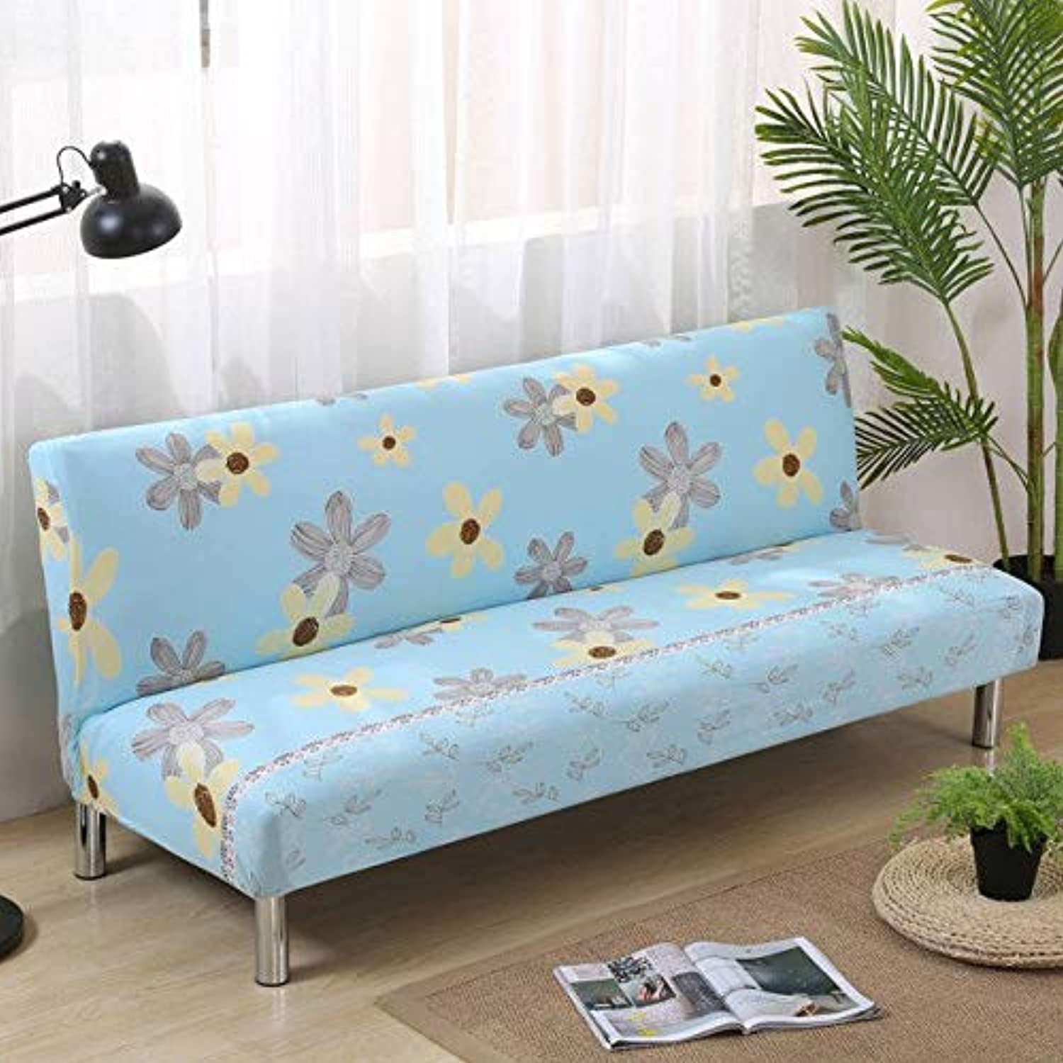 Elastic Sofa Bed Covers for Living Room Sofa Towel Slip-Resistant Sofa Bed Cover Strech Slipcover   colour20, 160cm to 200cm