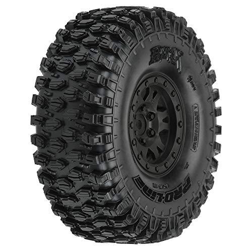 "Pro-line Racing Hyrax 1.9"" G8 Tires Mounted Impulse Black (2), PRO1012810"
