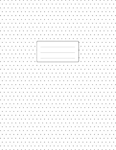 Isometric Dot Grid Notebook -  3D Graph Paper: 1/4 inch Distance...