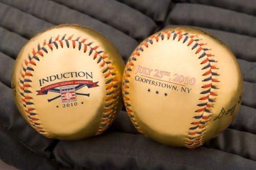 National Baseball Hall of Fame Induction Under blast Indefinitely sales Metallic 2010 Gold Base