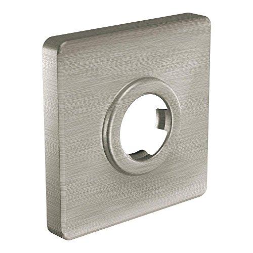 Moen 147572BN Showering Acc - Core Square Shower Arm Flange, Brushed Nickel